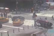 1死22伤!汽车冲进时代广场