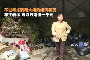 视频:环卫大姐蹭了宝马 丈夫称要离婚