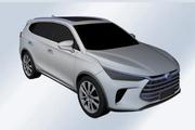 曝比亚迪全新SUV专利图