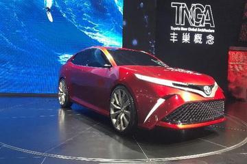 深港澳车展:丰田TNGA概念车亮相