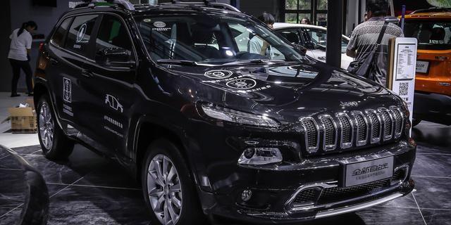 视频:2017深港澳车展之Jeep展台