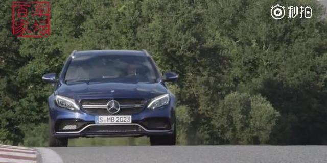 全新奔驰C63 AMG旅行版,亮不亮眼?