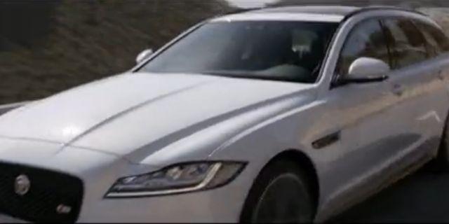 视频:高颜值座驾 全新捷豹XF Sportbrake