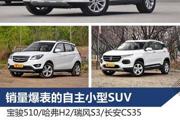 看看那些月销过万的自主小型SUV盘点