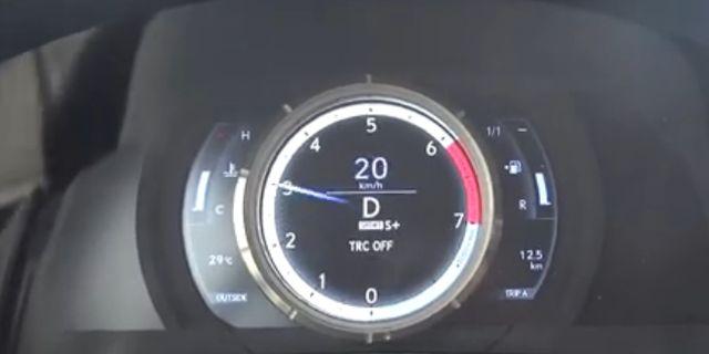 视频:动力强劲 雷克萨斯RC 200t加速测试
