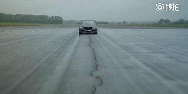 视频:捷豹XJ575,4.4秒破百