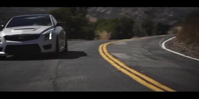 视频:山路疾驰 改装版凯迪拉克ATS-V