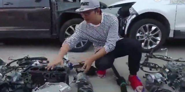 视频:汽车拆了看!途昂和锐界的发动机