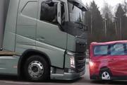 沃尔沃卡车自动刹车