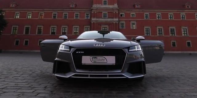 视频:第一眼就被吸引!奥迪TT-RS太帅气