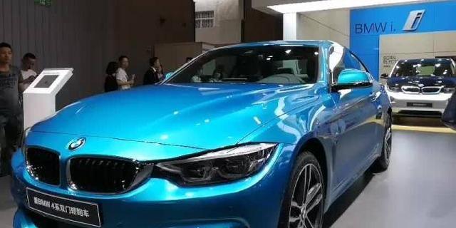 宝马 4系,这个颜色不亚于M3的阿布扎比蓝,特精神!