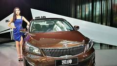 起亚凯绅12.88万元起售 欲发力中产阶层家庭用车市场