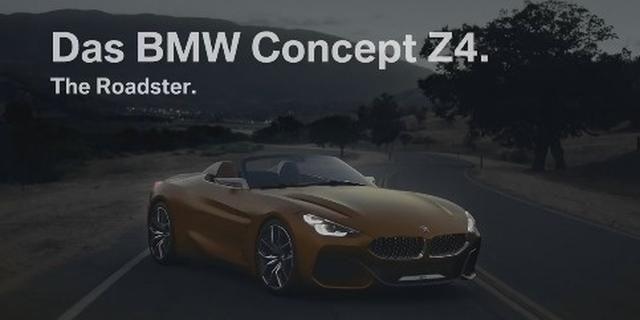 视频:完美侧颜!宝马Z4概念车宣传片