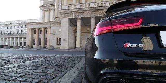 视频:2017 奥迪RS6 Performance迸发605匹最大马力