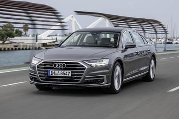 汽车界的科技巨人 试驾奥迪全新A8/A8L