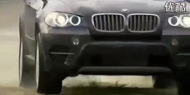 视频:实地测试 宝马X5越野 涉水