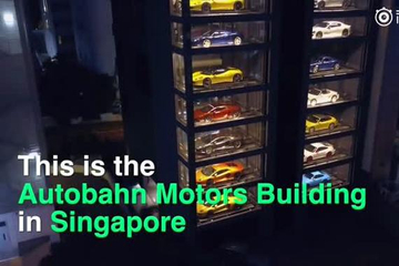 视频:新加坡现自动卖车机 好想投币玩玩