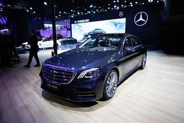 2017广州车展 奔驰携众多新车正式上市