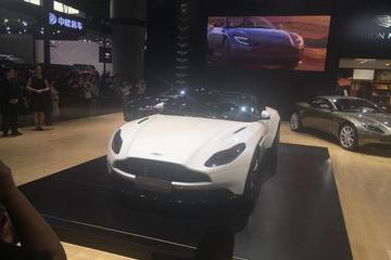 2017广州车展:阿斯顿·马丁DB11 V8首秀