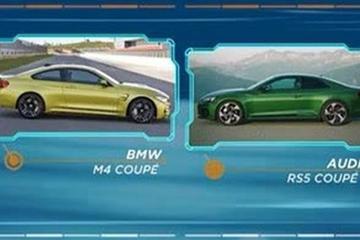 视频:德系双雄对垒BMW M4 CS vs Abt Audi RS 5