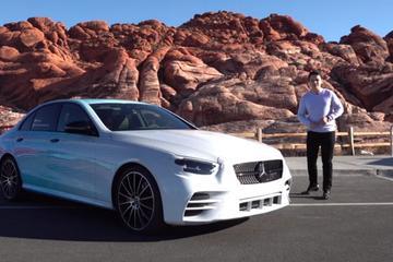 2021款奔驰E级轿车照片曝光 或亮相日内瓦车展