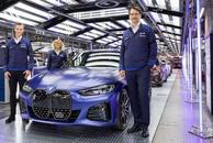 宝马电动化之路重要里程碑 首款量产 BMW i4 在慕尼黑下线
