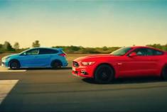 谁会赢?福特 Mustang 直线对决福克斯 RS