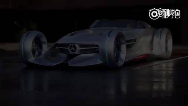 视频:奔驰Silver Arrow概念车