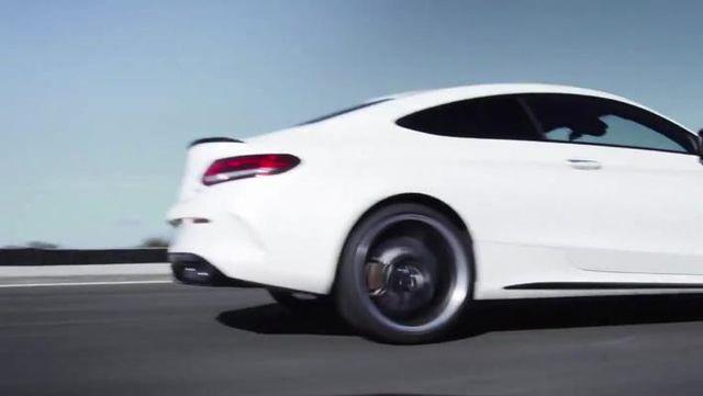 视频:2019款奔驰 C63 S AMG Coupe发布!3.9秒破百!
