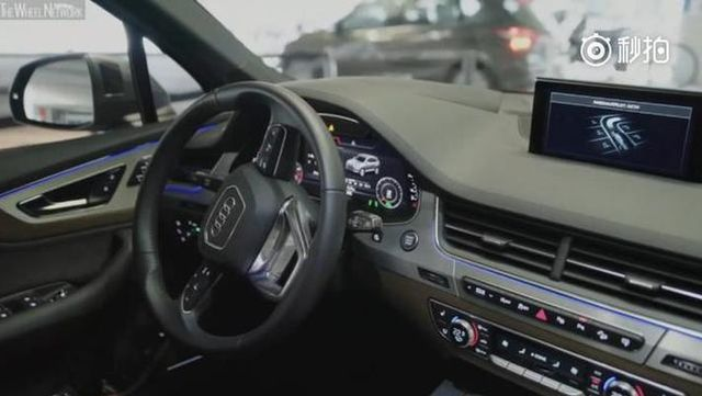 科技的力量:你只需轻轻一按 奥迪Q7就能自己去泊车