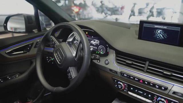 2018奥迪Q7 高科技与豪华品质融为一体