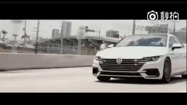 视频:大众Arteon最美大众车的名号应该没异议