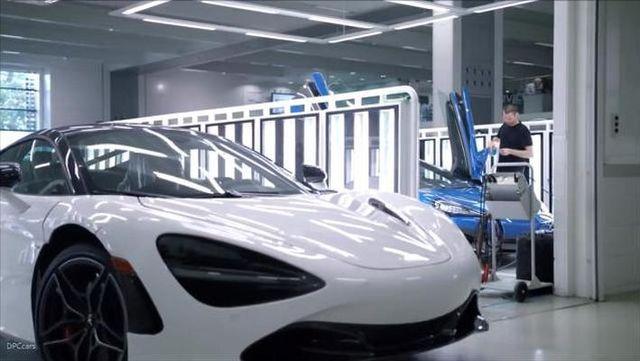 车间探秘:迈凯轮 720S生产组装全过程