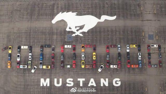 最经典的肌肉跑车 第1000万辆野马下线