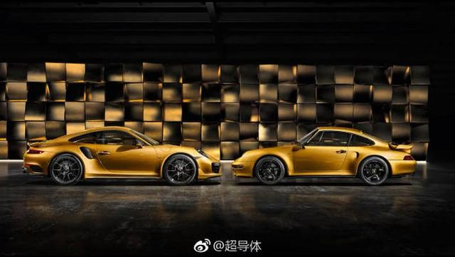 「金」典蛙 保时捷911 Project Gold