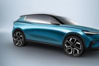 ENOVATE首款车型预告图 广州车展发布