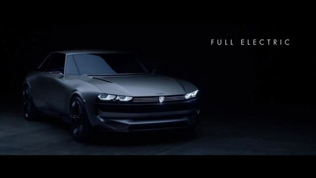 标志e-Legend电动概念车 复古设计致敬经典