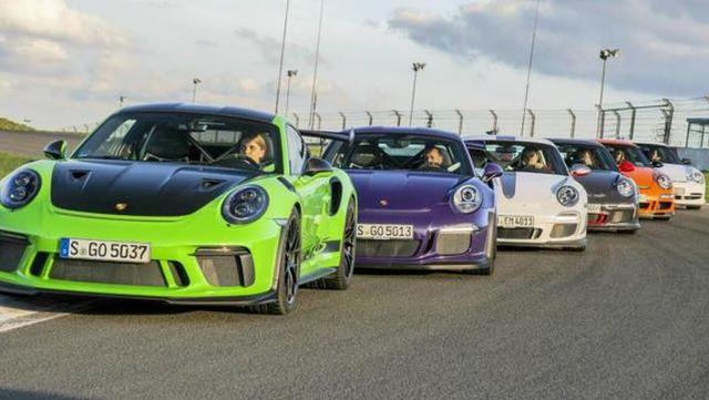 最后的自吸王者 保时捷911 GT3 RS赛道称霸
