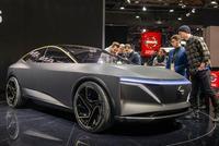 实拍日产IMs概念车 最大续航超600km