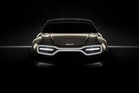 起亚电动概念车预告图 日内瓦车展首发