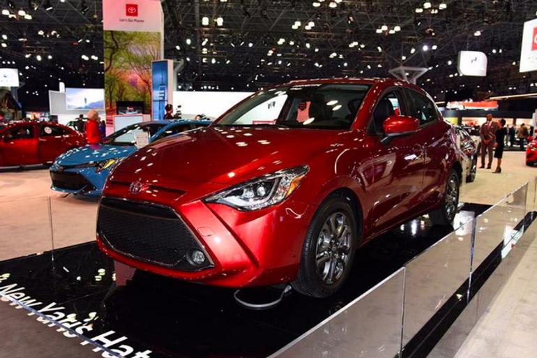 2019纽约车展:丰田新款YARiS两厢版