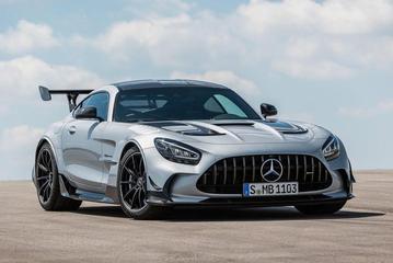 2021款梅赛德斯-AMG GT黑色系列被曝更多细节