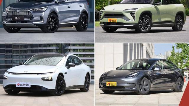 四款有品质的新能源SUV、轿车推荐