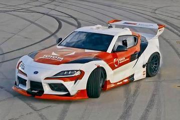 丰田GR Supra展示自动漂移技术 实际应用中可避免撞车