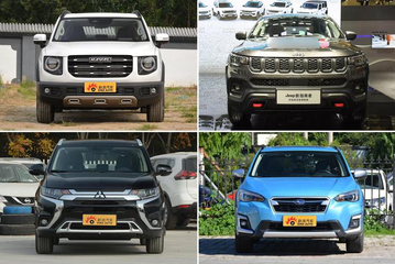 谁说城市SUV就是软脚虾? 四款四驱性能强悍的城市SUV