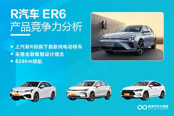 【新浪汽车大数据】上市半年后,R汽车 ER6的市场竞争力如何?