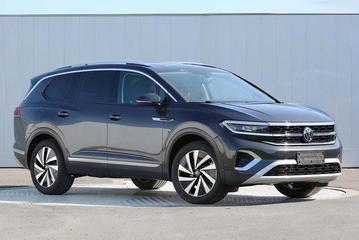 一汽-大众首款大型SUV Talagon申报图曝光 或上海车展发布