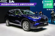 2021上海车展:依旧是标杆级的实力 全新汉兰达新车图解