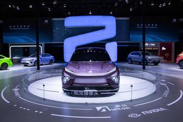 """2021上海车展丨上汽R汽车ES33亮相,ADAS采用""""六重融合式""""感知方案"""