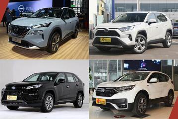 终于都完成了换代 四款日系SUV怎么选?